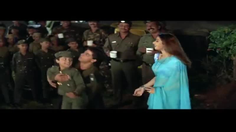 4 Achiko Bachiko Kachiku - Army - Sadhna Sargam, Udit Narayan, Aditya Narayan - Sridevi