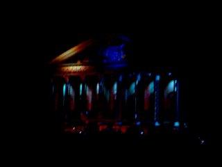 Казань. День города 2010  Лазерная 3D-проекция