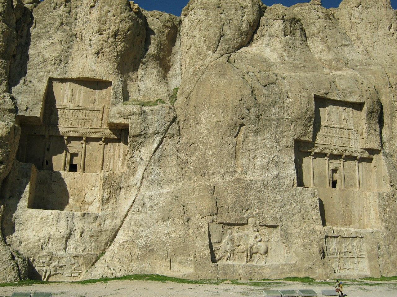 Гробницы Накш-е Рустам в провинции Фарс