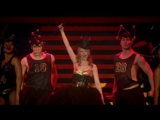 Kylie minogue get outta my way (aphrodite les folies 2011 live in london)