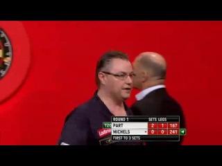 John Part vs Mareno Michels (PDC World Darts Championship 2014 / Round 1)