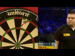 Peter Wright vs Michael Smith (Players Championship Finals 2013 / Round 1)