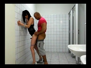 Stefanie fucked in the rest room