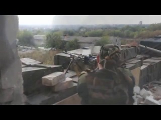 Бои под Донецком Правого сектора ►♪♫