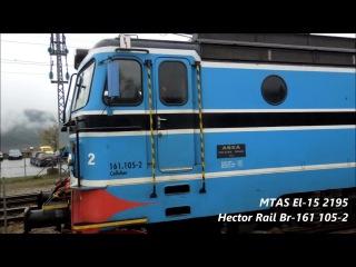 MTAS El 15 'Callahan' Timber Train from Otta Stops At Lillehammer '41690'