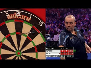 Phil Taylor vs Jyhan Artut (PDC World Darts Championship 2015 / Round 1)