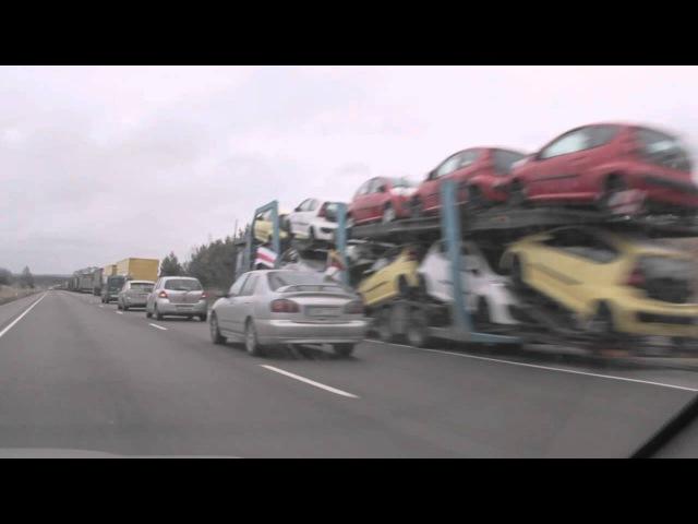 Святочны аўтапрабег з нагоды Дня Волі 25 03 2012