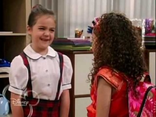 bailee (maya) and madison (sophie) in cory in the house