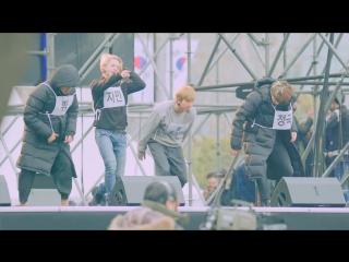 `FANCAM` 161231 Bangtan - Fire @ Репетиция MBC Gayo Daejejeon.