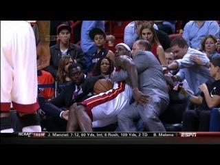 Tom Thibodeau Catches LeBron James