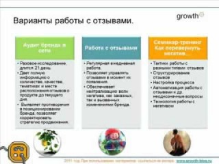 Как российские компании работают с отзывами о них в интернет