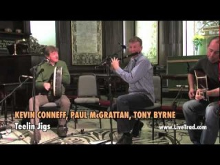 Kevin Conneff, Paul McGrattan, Tony Byrne - Traditional Irish Music from