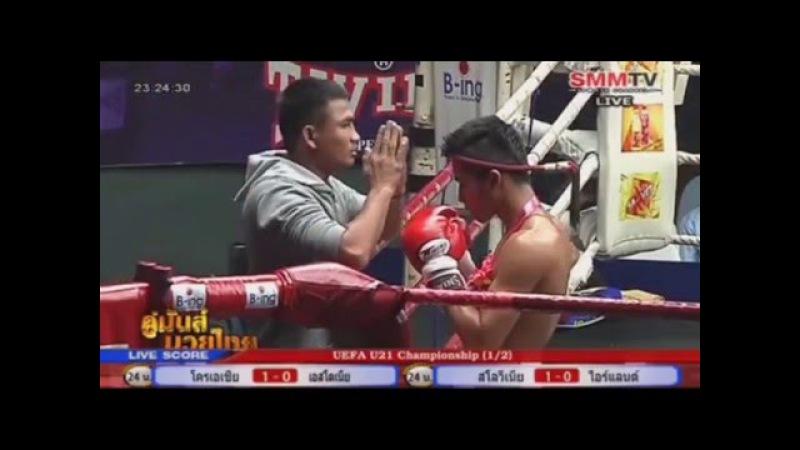 จอมพิฆาต ชูวัฒนะ Vs กล้าศึก ศิษย์จ่ากล้า (Jompikat Vs Klasuek),ราชดำเนิน 28 March 2016