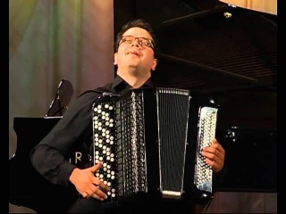 Volodymyr Runchak - Three folk pieces, suite No 2 (Ukrainian) for accordion in 3 mov.