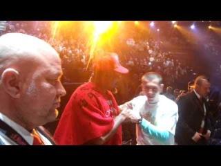 Shannon Briggs appearance before Klitschko fight