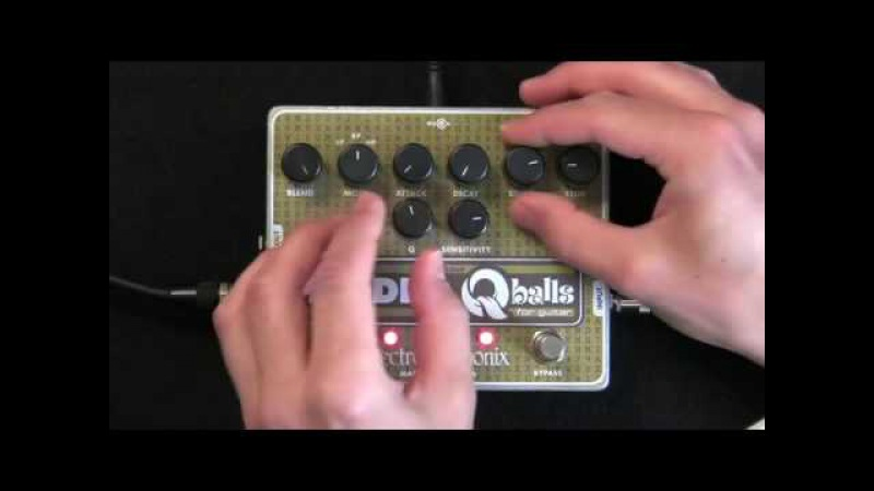Electro Harmonix Riddle Q-Balls Guitar Effects Pedal