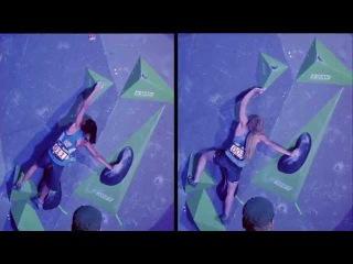 Shauna Coxsey & Megan Mascarenas - Climbing Styles Compared