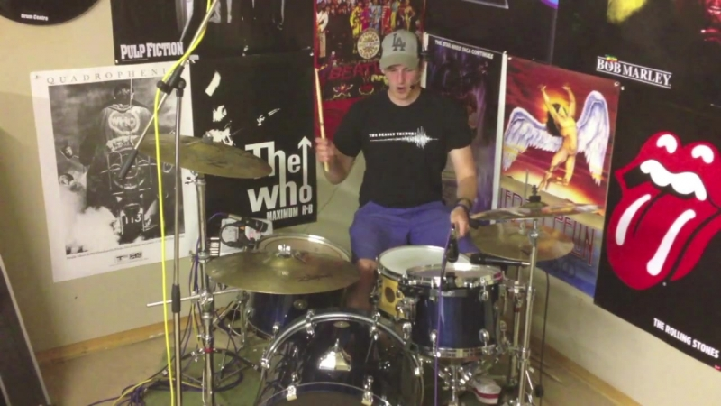 Drum Lesson _119 - Kick Drum Workout - Groove-Fill by Alex Ribchester