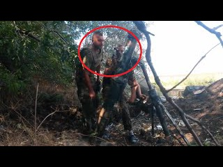 Ukraine War - Ukrainian mortar team defending Marinka against Russian attackers and invaders