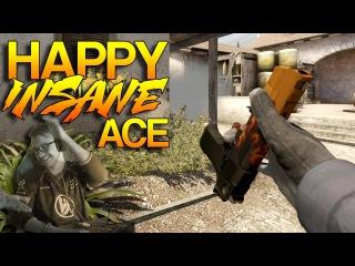 CS:GO - Happy INSANE Deagle Eco Ace!