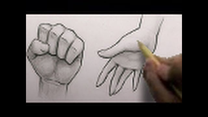 How to Draw Hands, 2 Different Ways [HTD Video 3]