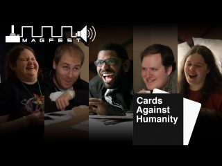 MAGFest Channel Awesome Cards Against Humanity