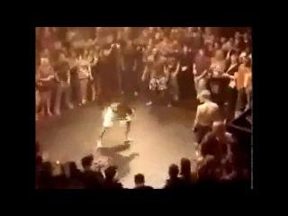 56 seconds   Champion Bohemian Kick boxer meets U S  Marine