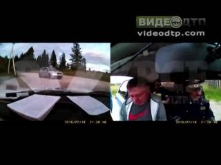 Мэр Александровска попался пьяным за рулем   ДТП авария