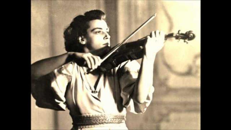 Ginette Neveu Chausson Poème studio recording in 1946