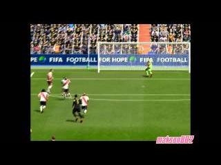YAYA TOURE SUPER GOAL TO FIFA 16