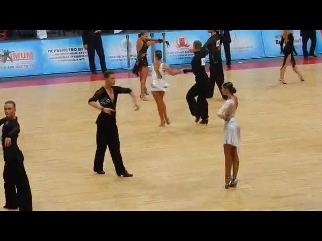 Гавриш Михаил - Криворчук Валерия Танцфорум-2015 Cha-cha