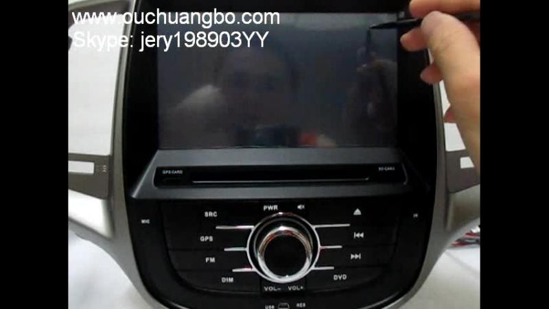 Ouchuangbo Changan Eado audio DVD support navi kit support BT iPod