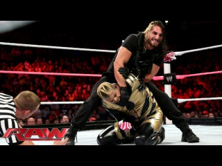 [#My1] Cody Rhodes & Goldust vs. Seth Rollins & Roman Reigns - WWE Tag Team Title Match: Raw, Oct. 14, 2013