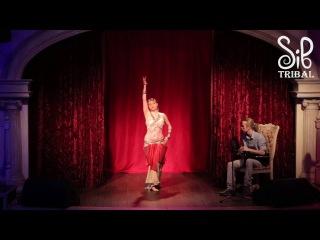 Sibtribal Party 2017   Анна Охрина и Константин Романов, Free Tribe, г  Красноярск