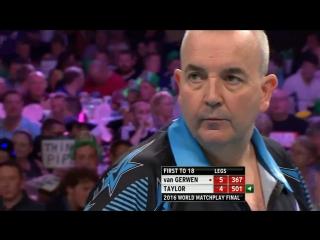 Phil Taylor v Michael Van Gerwen (PDC World Matchplay 2016 / Final)