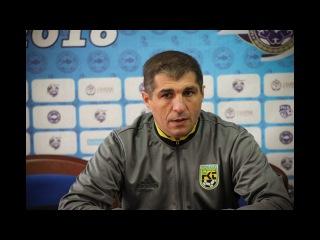 Омари Тетрадзе: «Атырау» был мотивирован и заслужил эту победу»