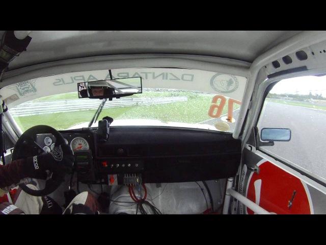 Dzintara volga Šēnfelds 76 Pērnava 2. brauciens jautrākie momenti.