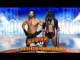 (WWEWM) Сет Роллинс пр. Финн Балор (, SummerSlam)