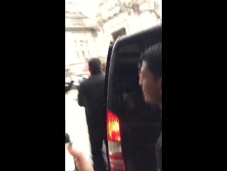 Gigi and zayn leaving their hotel in milan, 28/02/16