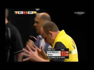 Belgium vs Spain (PDC World Cup of Darts 2015 / Second Round)