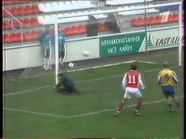 Локомотив - Уралан 9:0 03.11.2000. Обзор ОРТ.
