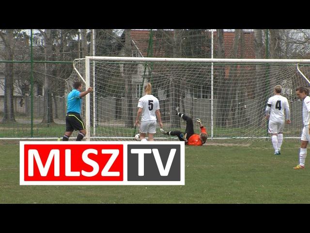Kóka FNLA 1 FC Femina 1 1 JET SOL Liga 14 forduló MLSZ TV
