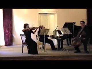 """ The Memory of Pyotr Tchaikovsky"" the Piano Trio elegiaque in D-minor op.9"