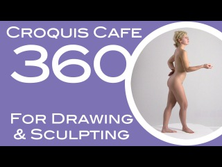 Croquis Cafe 360: Drawing and Sculpture Resource, Simone #1