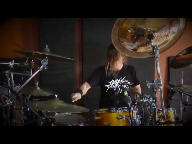 Feared - Kevin Talley Studio drum Cam