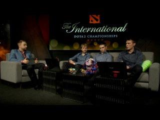 4-ая Студия Аналитики перед 2-ой игрой NewBee vs VG TI5
