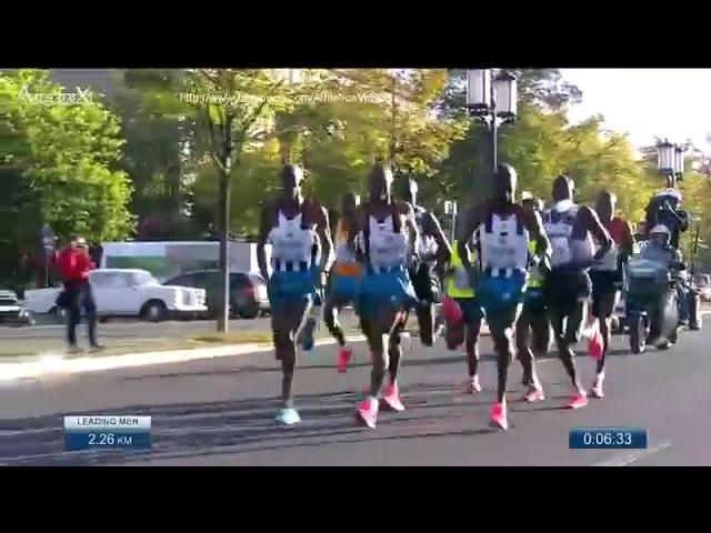 Dennis Kimetto Berlin marathon 2014 2h02'57 new WR