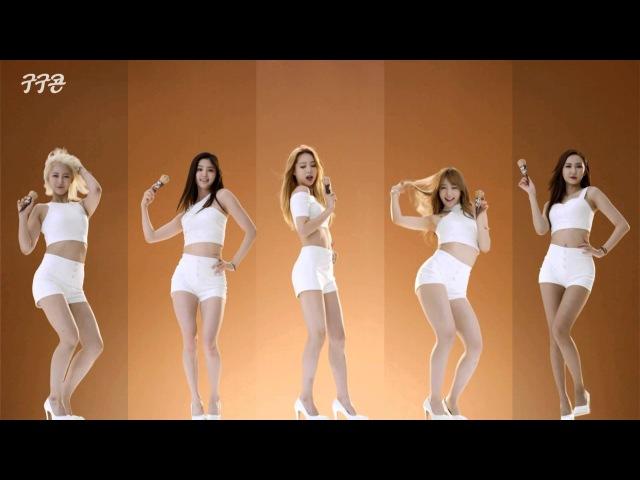 EXID 섹시 풀 버전 '구구콘CF' EXID Sexy Full Version 2015 GooGoo CF кфк