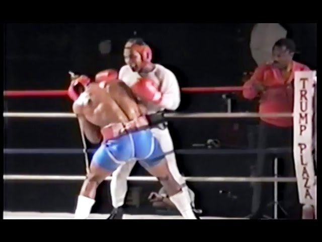 Mike Tyson Sparring McCall Joe Frazier Watches Part 1