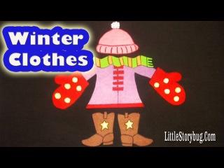 Winter preschool songs - Let's get dressed! - littlestorybug